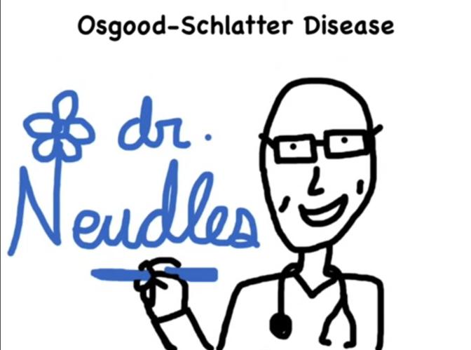 Dr. Neudles explains Osgood-Schlatter Disease.