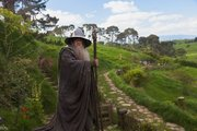 "Ian McKellen reprises his role as Gandalf in a scene from the fantasy adventure ""The Hobbit: An Unexpected Journey."""