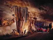 Ride all the way through Fantastic Caverns, above, in Springfield, Mo., to experience the splendor of the cave while preserving its natural features.
