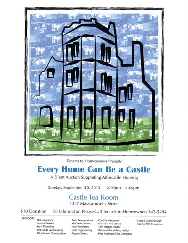 Castle Tea Room - 1307 Massachusetts St.
