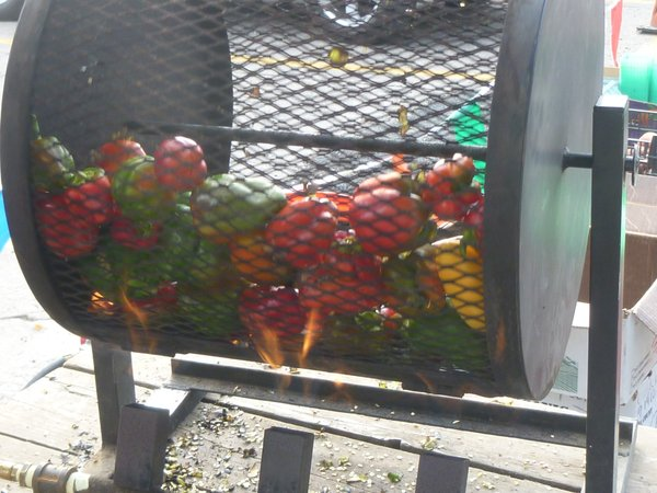Pepper roasting is a great method to store this year's bounty of peppers.  Roasted peppers can be added to almost any dish for added flavor and increased deliciousness!