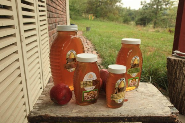 Richard Bean's Blossom Trail Bee Ranch near Baldwin City produces and sells honey, honeycomb and bee pollen.