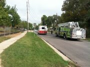 City and county crews investigate gasoline in the sewer near Schwegler Elementary, 2201 Ousdahl.