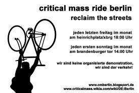 Berlin Critical Mass image