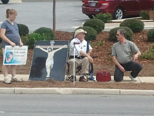 Clinic Protesters