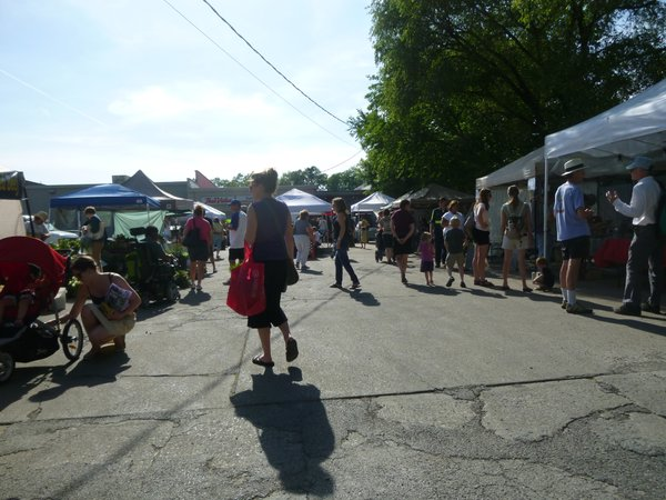 Cottin's Hardware Farmers Market runs through the end of October in the back parking lot of Cottin's Hardware & Rental.
