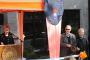Baker administrators dedicate the Boyd Center, Friday Oct. 5
