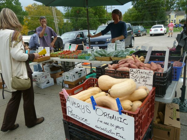 Cottin's Hardware Farmers Market runs through the end of October in the back parking lot of Cottin's Hardware & Rental