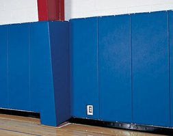 Padded gymnasium walls