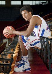 Kevin Young is one of four seniors on the 2012-13 KU men's basketball team.