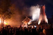 The Overlord's Awakening at Worlds of Fun heralds the summoning of spririts to transform the park into Halloween Haunt.