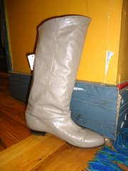 Ash-colored boot at Wild Man Vintage