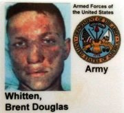 Brent Whitten's Army ID