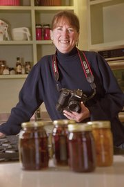Lawrence resident Kathy Sanders Wilson, formerly a professional food photographer with a studio in Chicago, shot more than 100 covers for Better Homes and Gardens magazine, as well as photos for food advertisements, cookbooks and recipe magazines.