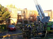 Lawrence firefighters were called about 7:50 a.m. Tuesday, Oct. 16, to an apartment fire in the 2200 block of West 26th Street.