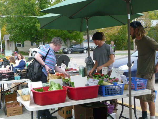Lots of great produce is still available at Cottin's Hardware Farmers Market final market of the season - Thursday, October 25, 2012.