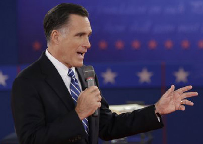 Republican presidential candidate Mitt Romney, whose plan would cut federal Medicaid spending by $1.7 trillion between 2013 and 2022, according to a new analysis.