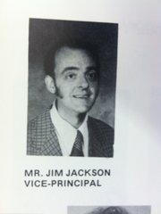 Yearbook picture of James D. Jackson, who had an active teaching license in Kansas from 1960 to 1976. He was also the vice principal of Arrowhead Junior High in Kansas City, Kan., between 1973 and 1976.
