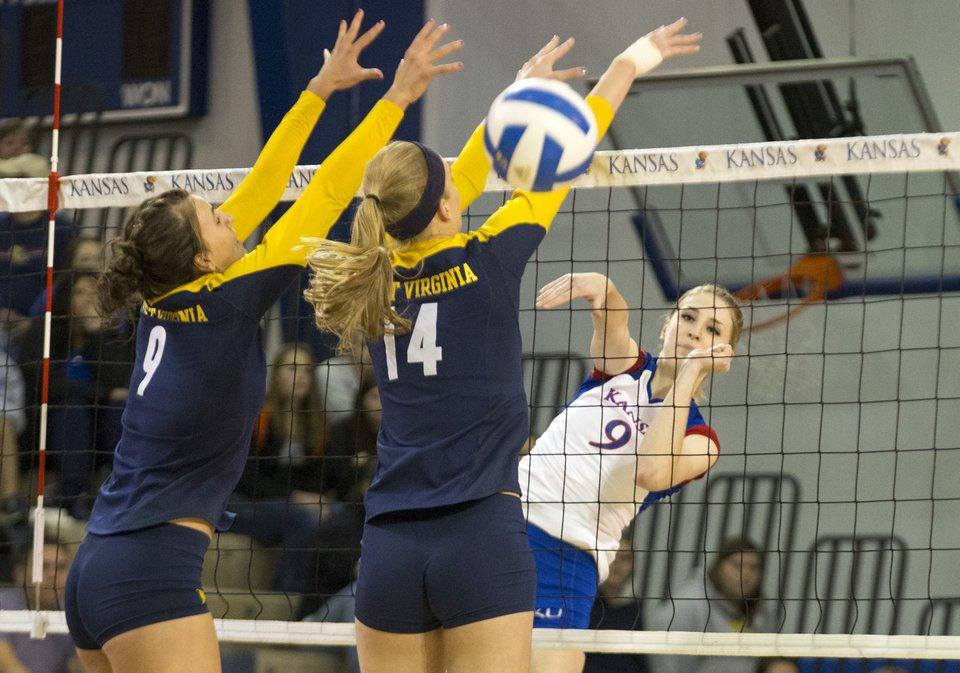 Kansas Volleyball vs. West Virginia | KUsports.com
