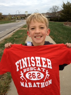 Way to run like a Bobcat, Asa!