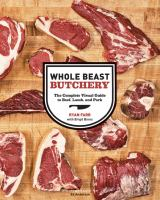 """Whole Beast Butchery,"" one of Alex Pope's favorite food books."