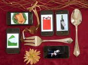 Smartphone apps offer a range of services that might come in handy for the holidays.