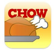 Chow Thanksgiving Dinner Coach app, free for iPhone