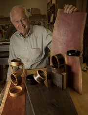 Dr. Paul Kincaid, a dentist, picked up the hobby of woodworking last year and began making bracelets for women he finds inspiring.