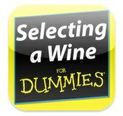 Selecting a Wine for Dummies app, free for iPhone