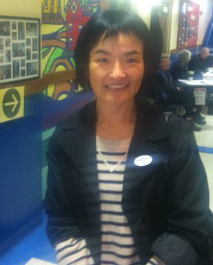 Xueying Wang voting for the first time on Nov. 6! 