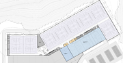 A floor plan for the lower level of the city's proposed northwest Lawrence recreation center.
