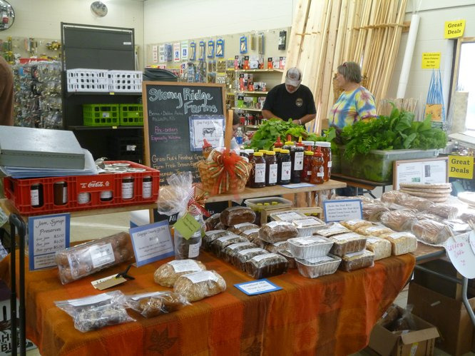 Cottin&#39;s Hardware Farmers Market - Indoors! will be on Tuesday this week, instead of Thursday because of the Thanksgiving holiday.