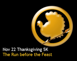 Come join the fun at the annual runLawrence Thanksgiving Day 5k Nov. 22.