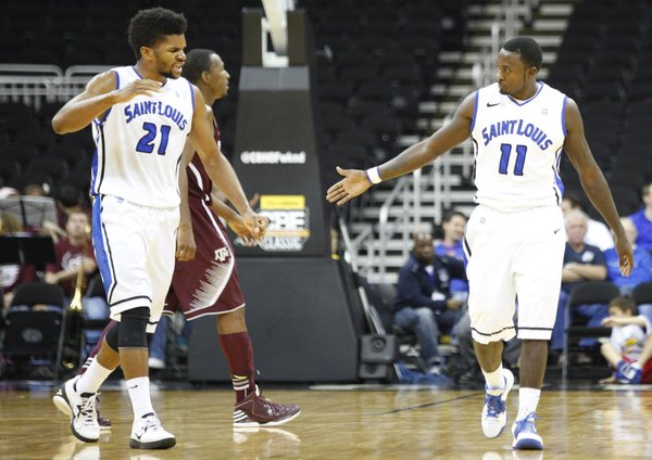 Dwayne Evans leads a strong Billiken team