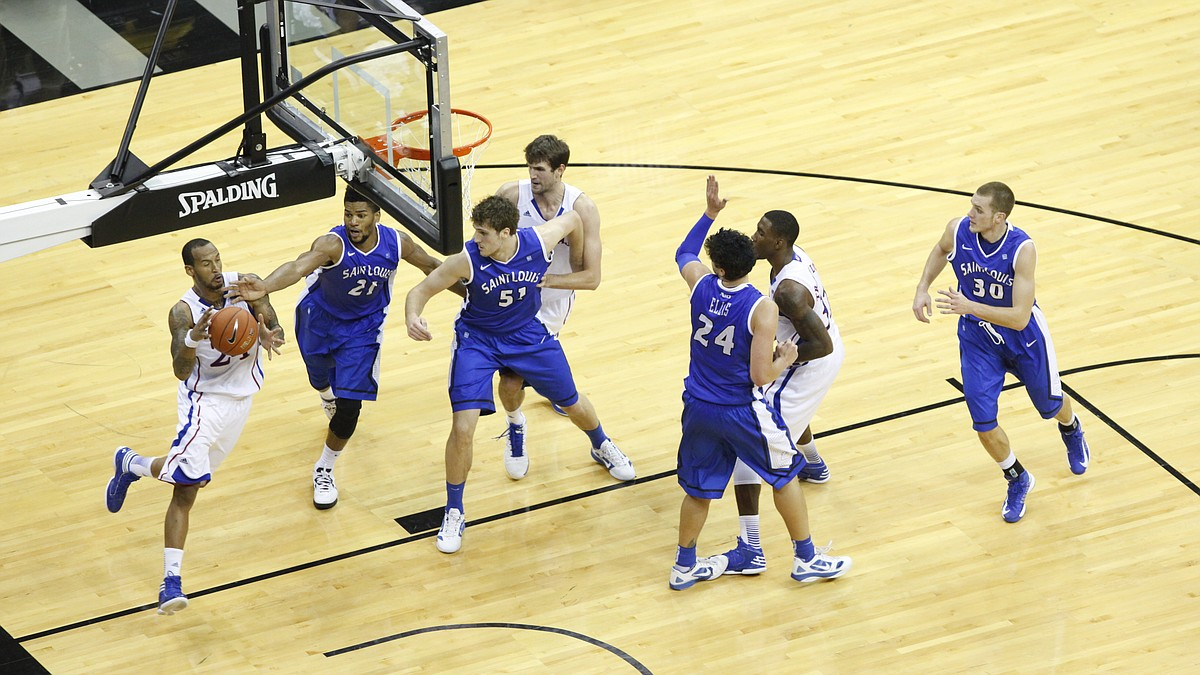 KU basketball v. Saint Louis (CBE Classic)   KUsports.com