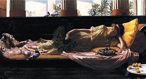 """Dolce far Niente"" It's sweet doing nothing.  (1880 John William Waterhouse)"