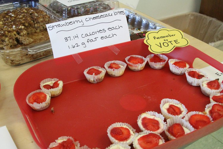 """Alicia Erickson entered these Strawberry Cheesecake Bites into the Lawrence-Douglas County Health Department's """"Holiday Dessert Makeover Contest."""""""