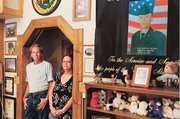 Jim and Cindy Butler have carved out an area in their Wellsville home to remember their son, Jacob, who was killed in Iraq on April 1, 2003. He was the first Kansas soldier to die in Iraq. The Butlers have gone to great lengths to find out the details of his death and have had very little help from the Army in doing so.