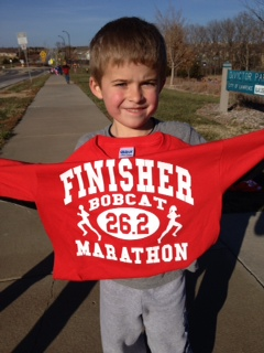 Caden competes with the elite. 26.2!