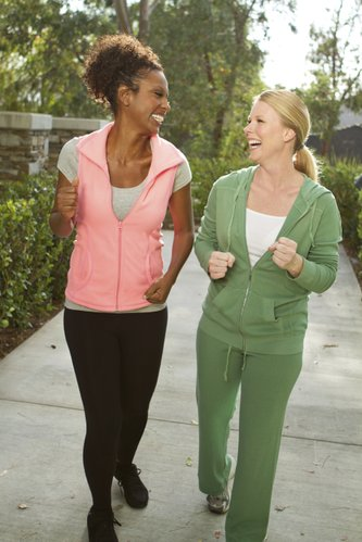 Finding a workout buddy can increase your motivation to exercise.