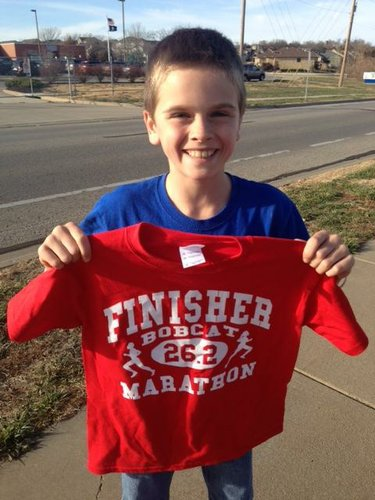 Reece does 26.2! Woo Hoo!