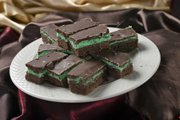 Chocolate Mint Bars from Mary Lou Reardon, Lawrence, won second place in the bar cookie category in the Journal-World's 2012 holiday cookie contest.
