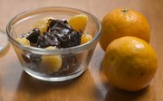 Delicious: Clementine chocolate cheesecake served parfait style