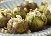 "Megan Stuke suggests making these Bleu Cheese Stuffed figs for your valentine ""if you'd like to get married."""