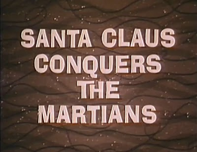 """Santa Claus Conquers the Martians"", 1964, directed by Nocholas Webster."