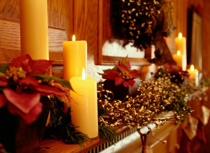 Keep safety in mind when decorating for the holidays.