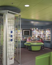 The Toy and Miniature Museum's Marble Gallery is filled with the colors of approximately 1 million marbles. The museum, 5235 Oak St., is located on the campus of University of Missouri—Kansas City.