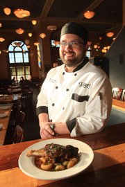 Chris Rieke, executive chef at Teller's, suggests Beer Braised Lamb Shanks for a holiday meal. The one-pot recipe is hearty and simple, but the not-so-everyday cut of meat and its bone-in presentation make it special occasion worthy.