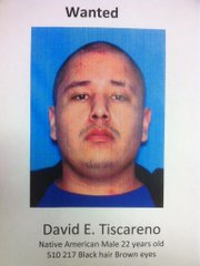 In Topeka, police are seeking 22-year-old David Tiscareno as a suspect in the shooting of two police officers.