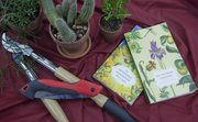 To inspire a non-gardener to try something new, consider an easy-to-care-for plant, helpful book or useful tool.
